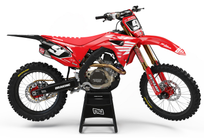 KIT DECO MOTOCROSS CR/CRF PIPS