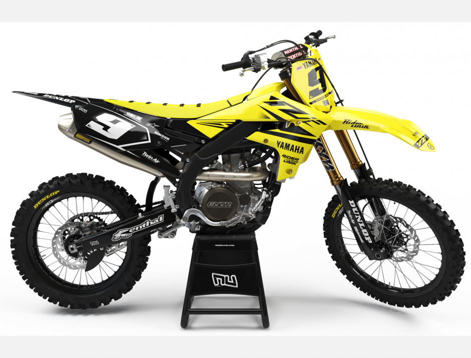 KIT DECO MOTOCROSS YZ/YZF PIPS YELLOW 1