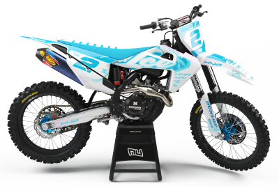 KIT DECO MOTOCROSS HUSQVARNA ICE
