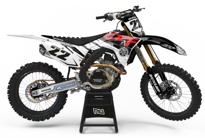 KIT DECO MOTOCROSS CR/CRF SUMMER BLACK