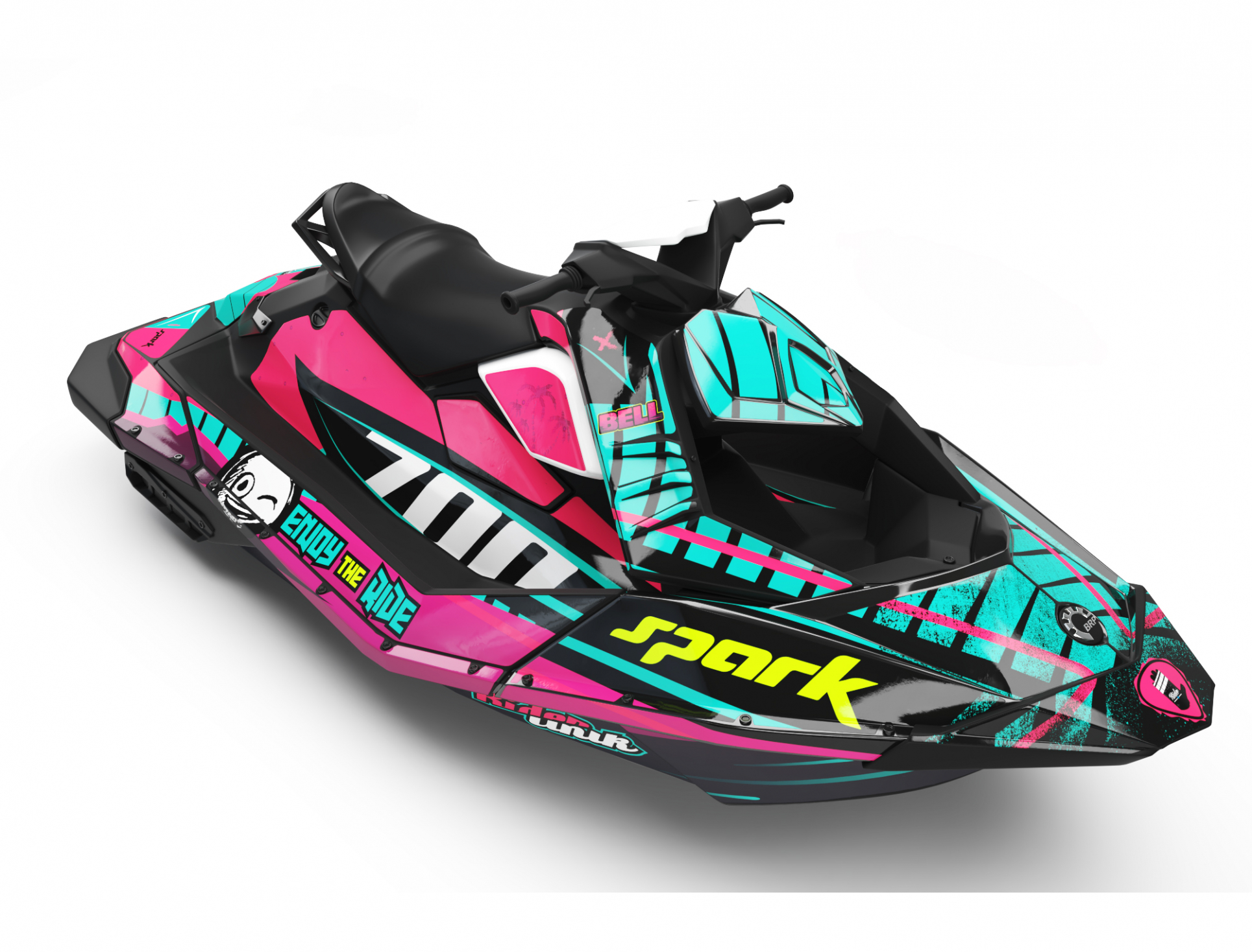 KIT DECO SEA-DOO SPARK ENJOY THE RIDE CUP