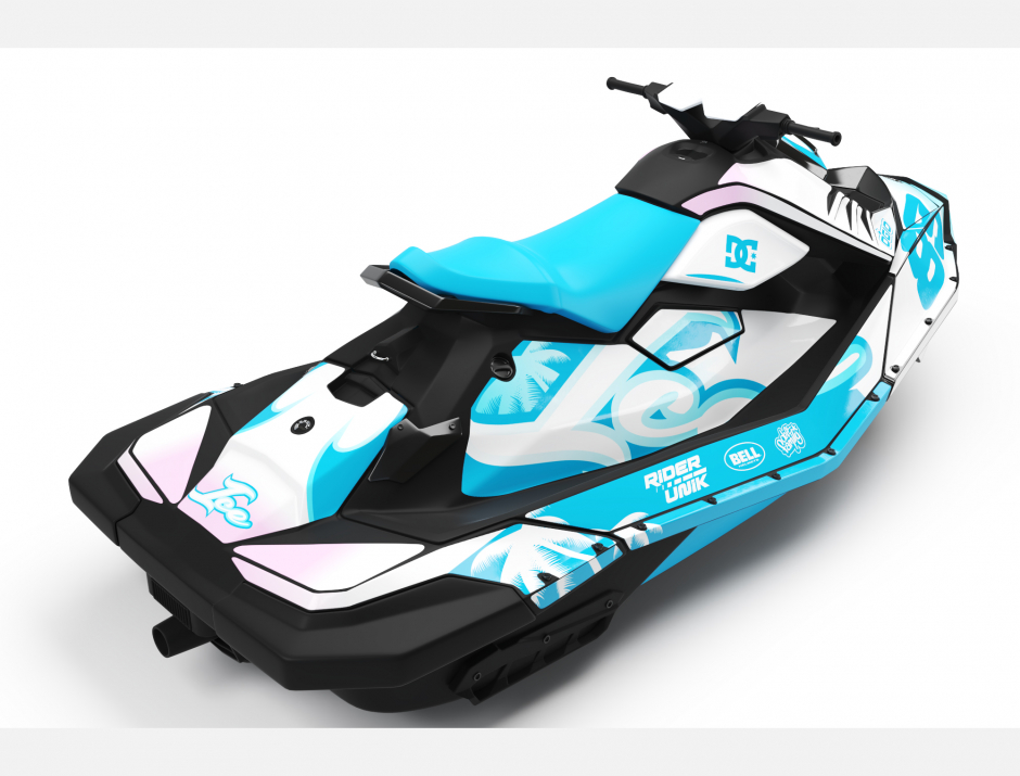 KIT DECO SEA-DOO SPARK ICE 3