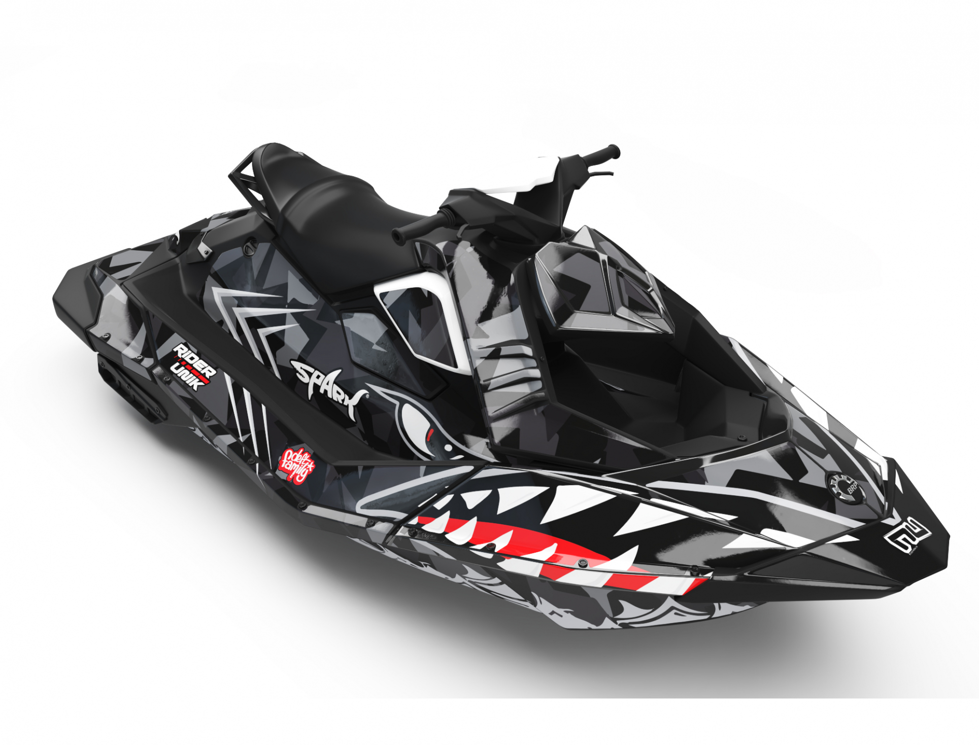 KIT DECO SEA-DOO SPARK SHARK