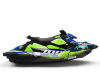 KIT DECO SEA-DOO SPARK ENJOY THE RIDE CUP VERT 2