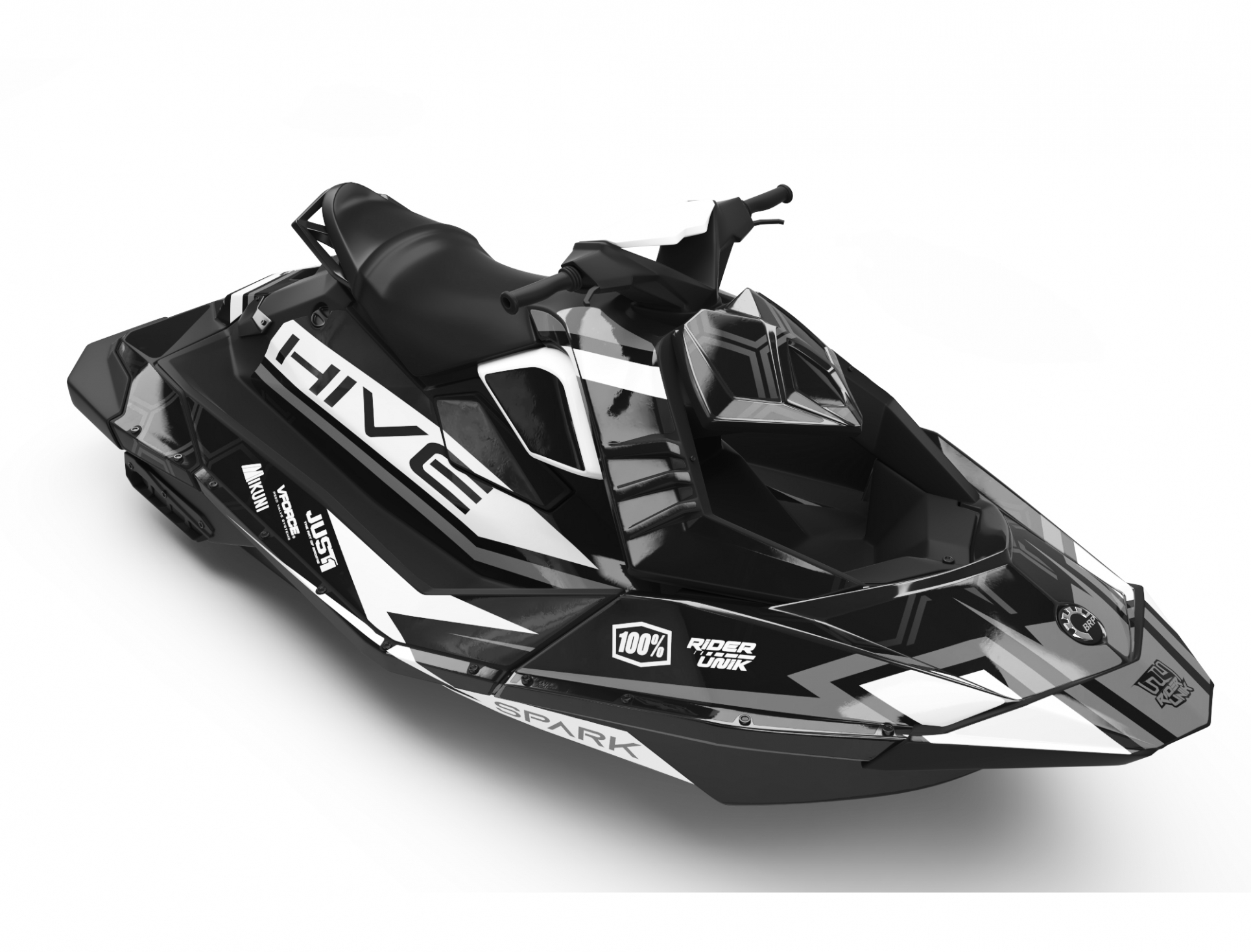 KIT DECO SEA-DOO SPARK HIVE GREY