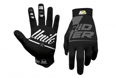 Gants motocross RiderUnik Rider Black 2019