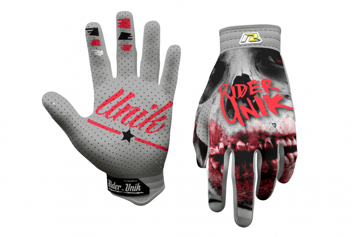 Gants motocross RiderUnik Blood 2019