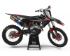 KIT DECO MOTOCROSS HUSQVARNA CORP BLACK 1