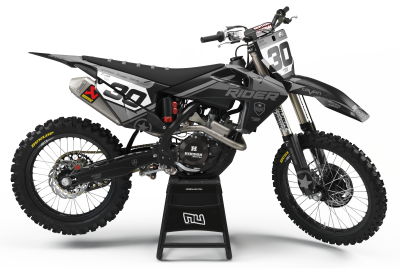 KIT DECO MOTOCROSS HUSQVARNA BULLET GREY