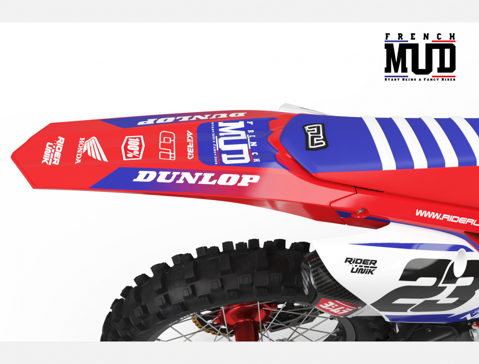 KIT DECO MOTOCROSS CR/CRF FRENCH MUD 2