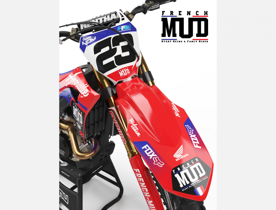 KIT DECO MOTOCROSS CR/CRF FRENCH MUD 3