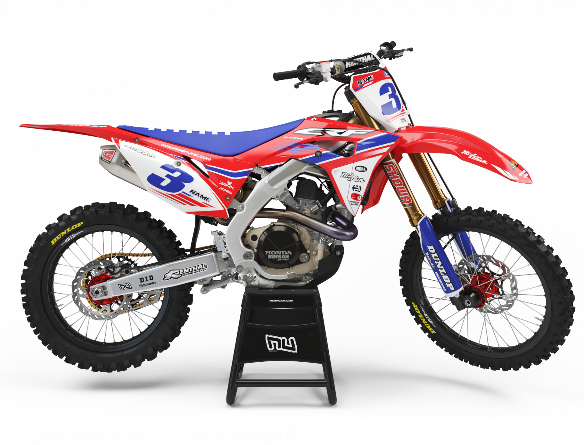 KIT DECO MOTOCROSS CR/CRF ALBI