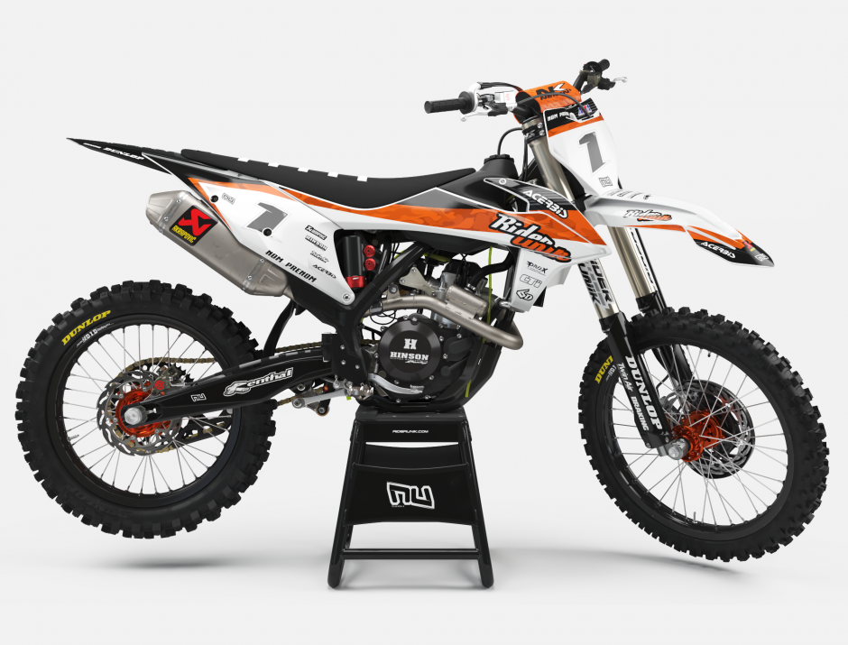 KIT DECO MOTOCROSS KTM FAKE 1