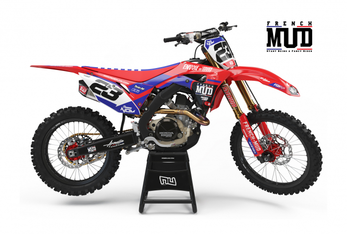 KIT DECO MOTOCROSS CR/CRF FRENCH MUD