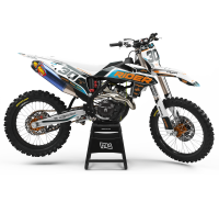 KIT DECO MOTOCROSS KTM LUX BLACK