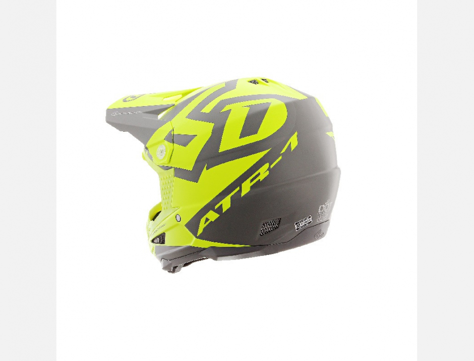 CASQUE 6D ATR1 SWITCH JAUNE + NOM OFFERT 2