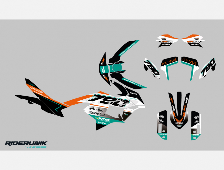 KIT DECO KTM ADVENTURE MOT 2