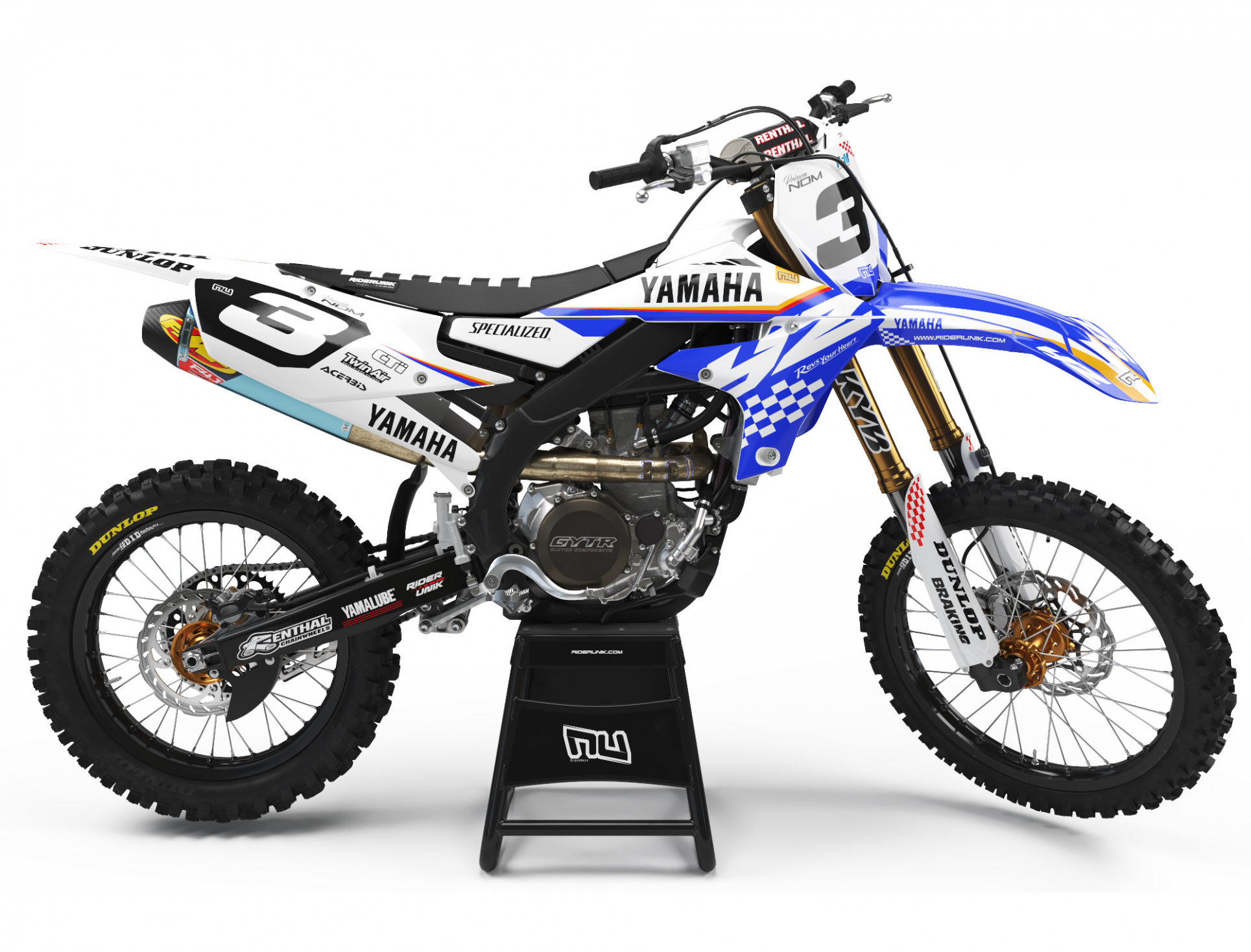 KIT DECO MOTOCROSS YZ/YZF CHECK