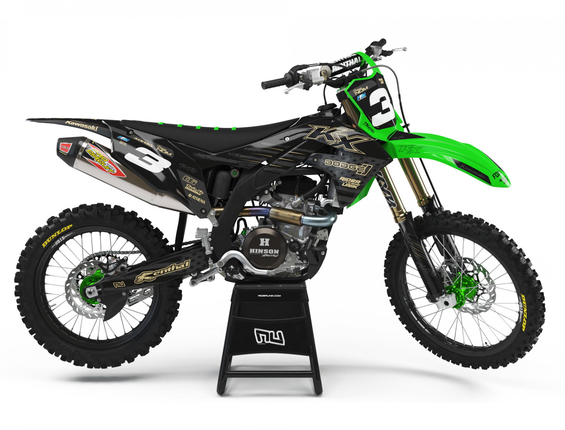 KIT DECO MOTOCROSS KAWASAKI DRT