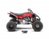 Kit déco quad Yfz-R PHELIX RED 1