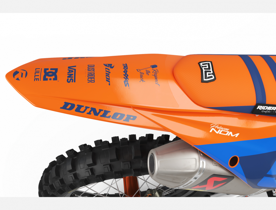 KIT DECO MOTOCROSS KTM DEC BLUE 2