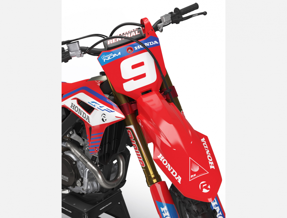 KIT DECO MOTOCROSS CR/CRF ROCKET RED 3
